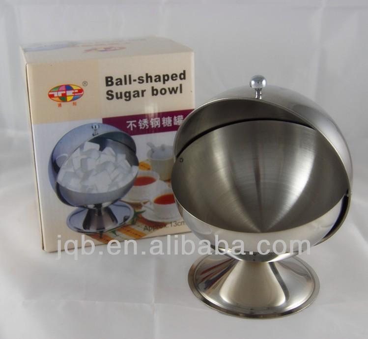 stainless steel 18/8 material ball shape candy bowl