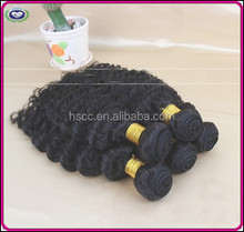 Factory in-stock Supply human natural curly remy hair extensions 100% human hair no mixed virgin hair extension