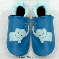 accept paypal OEM wool wholesale cotton hand crochet soft sole leather happy baby shoes