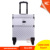 Promotional Multi-Function Aluminum Hard ABS Trolley Cosmetic Hair Rolling Case