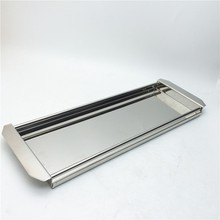 Stainless steel serving tray for buffet cafeteria tray Christmas turkey plates
