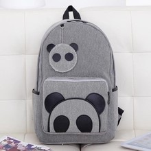 Teenage Students School bags New Women Backpack Vintage Cartoon Backpacks Men's Travel Bag