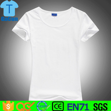 womens clothes Blank Custom Plain T Shirt with high quality