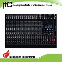 Upscale 21 Kinds Effect Internal Digital DSP Audio Mixer