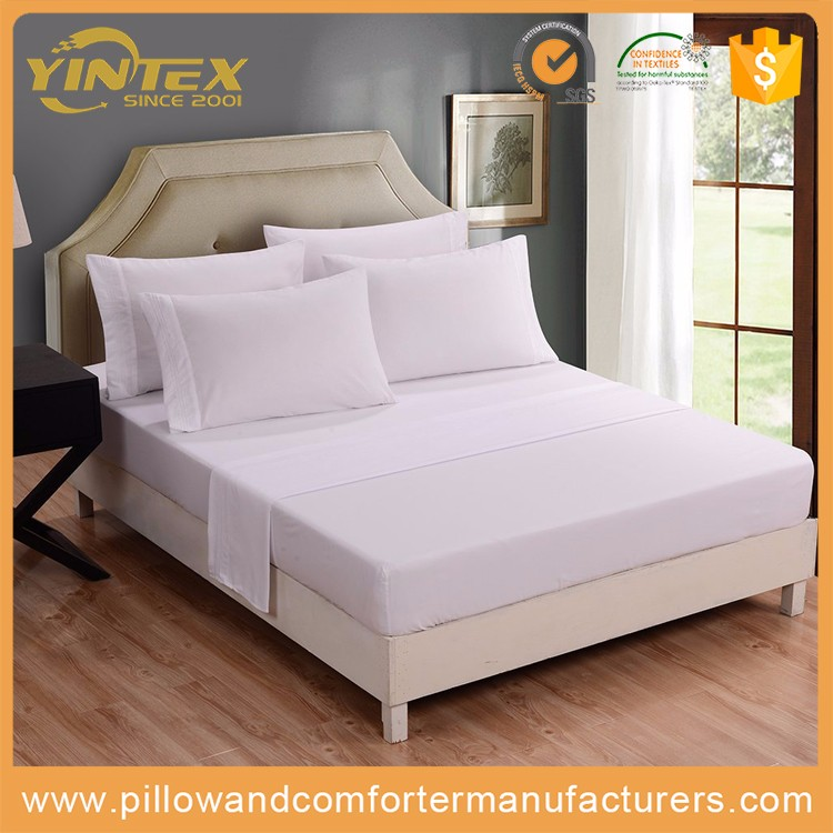 100% Bamboo Hotel Linen/Bed Sheets /Bedding Sets for luxury SHERATON Hotel