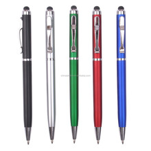 Best selling slim touch pen with metal clip