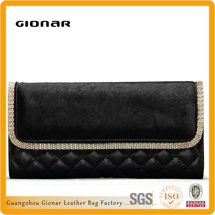 china supplier of New product Sheep leather horse hair bag leather lawyer bag for women