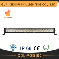 led light bar off road 4x4 4wd 180w 32 inch police led roof light bar