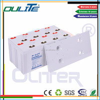 2V3000ah sealed maintenance free rechargeable telecom battery