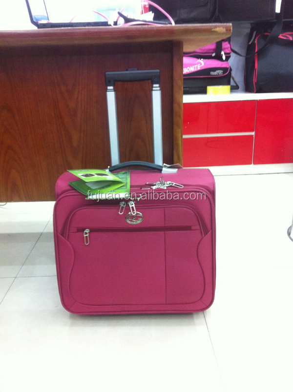 Fashion New Stock 18Inch Ladies Laptop Trolley Bag Wholesale