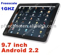 9.7 inch Tablet PC Android 2.2 MG106C capacitive touch screen 1GHZ wifi Bluetooth G-sensor