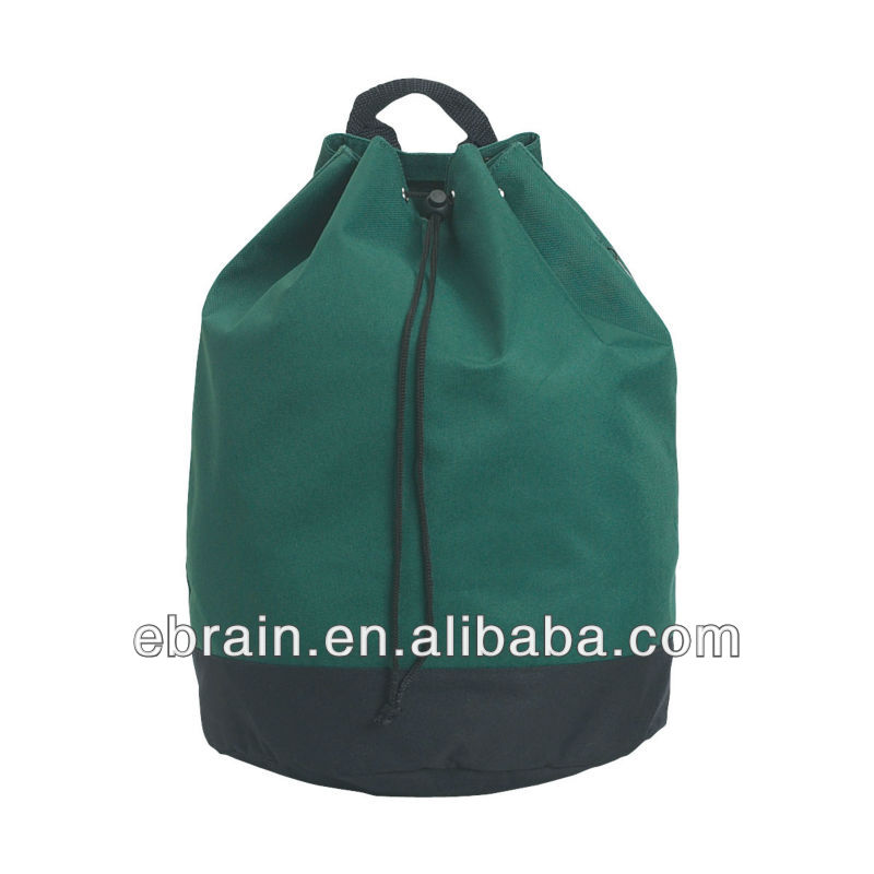 Promotional Drawstring Tote Backpack,Christmas pocket shaped backpack
