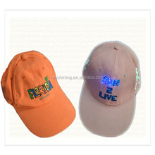 basketball led shining sport snapback cap