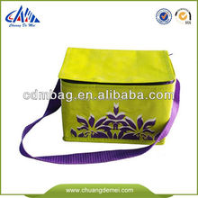 Food Grade Promotional Wholesale insulated lunch cooler bag fabric