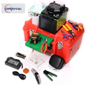 Splice Machine Fiber Fusion Splicer Orientek T40 fiber optic splicing machine price