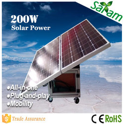 Movable 200W Small Solar Panels for Home