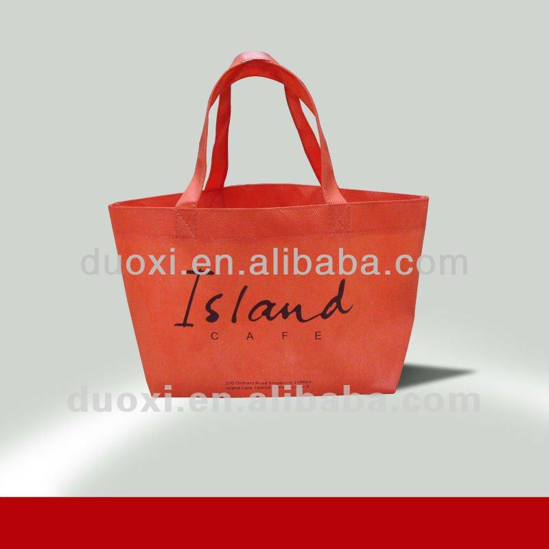 Eco-friendly non woven city name tote shopping bag 100% manufacturer