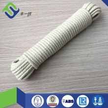 Superior quality 12mm pure braided cotton rope