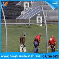 china wholesale customchina galvanized chain link fence covering