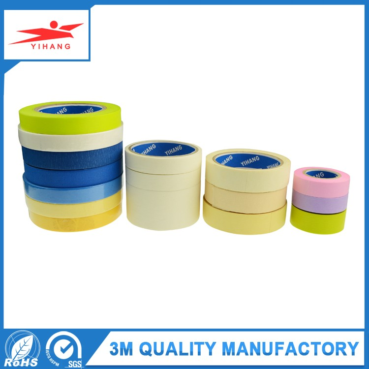 Pressure Sensitive, Adhesive Waterproof Decorative Craft Masking Tape