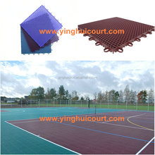 ITF Outdoor Portable Tennis Court Sports Flooring