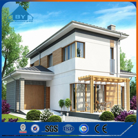China Flexible Luxury Low Cost Cheap Prefab Modern Houses