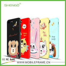 ODM Customized Personalized Design Luxury TPU Printing Fancy Cartoon Mobile Phone Covers for iPhone 7