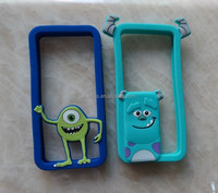 silicone cellphone case with Monsters pattern