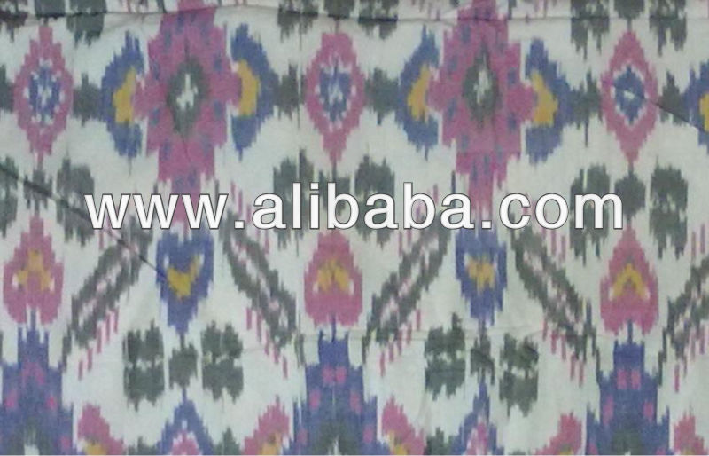 New Hand make Ikat cotton upholstery fabric cloth traditional designs