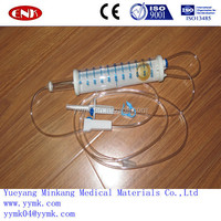 Disposable peadiatric infusion set with burette