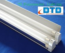 2*28w T5 Fluorescent Ceiling Light Fixture With Reflector