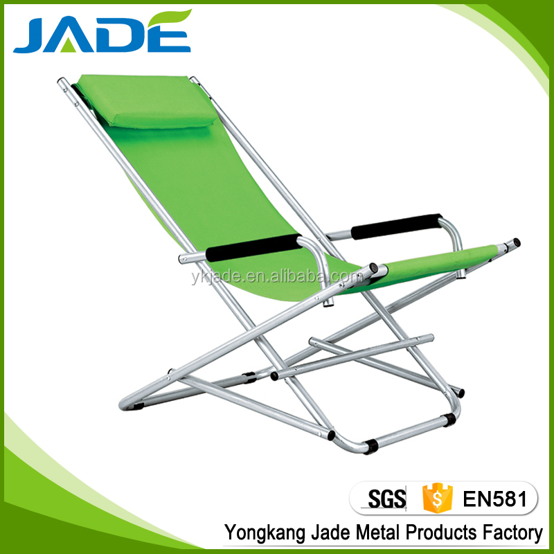 Easy folding chair replacement seats outdoor sun loungers rocking chair price foldable rocking chair iron