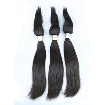New arrival full end large stock virgin indian braiding hair extensions