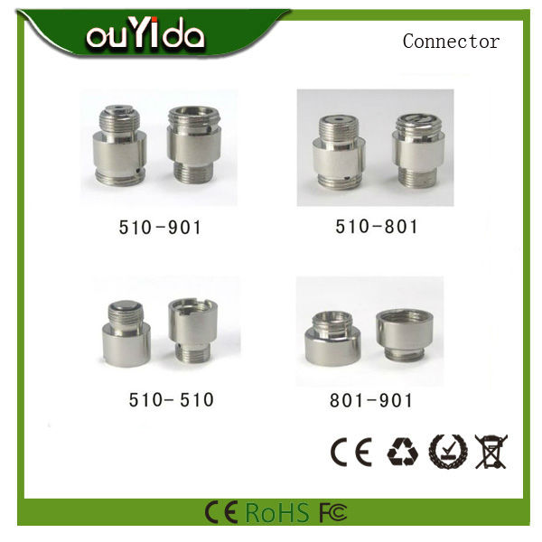 OUYIDA 510-901 adapter 510 battery to 901/808D connector