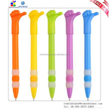 Plastic Hot Selling Promotion Custom Advertising Fist Promotional Pen