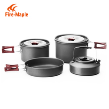 Outdoor Equipment Gear Wholesale Alibaba OEM-FMC-212-1 Outdoor 6-7 Persons Camping Cookware Set