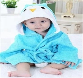 Hooded Baby Towel Ultra Soft Baby Towels Antibacterial and Hypoallergenic Bath Wrap with Hood S M L 3 sizes