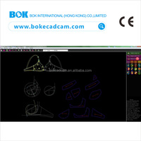 Auto design fabric pattern cad cam software for garment apparel cad software programs