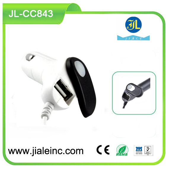free sample mobile car charger with micro usb 5V2A auto charger with single port for cellphone use with CE