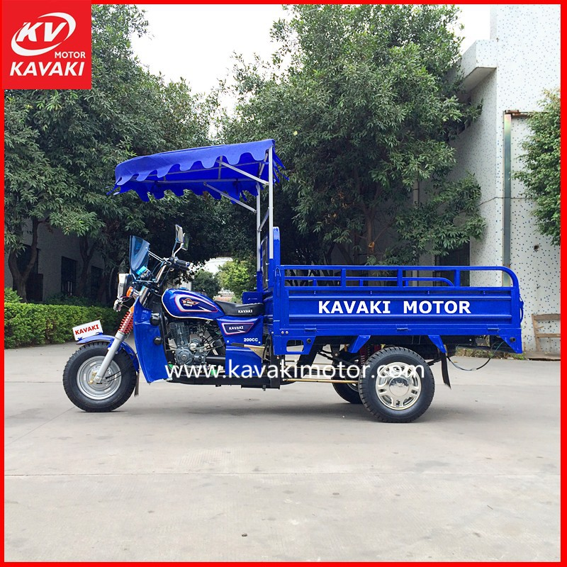 China Cargo Transporting Tricycle Motorcycle Zongshen Engine used differential tricycle cargo for sale in Angola