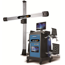 Laser 3D wheel alignment for auto maintenance workshop tools