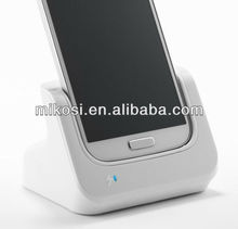 USB Sync and Charge Cradle Desktop Charger for Samsung Galaxy S IV / S4 GT-i9500 Android Cell Phone