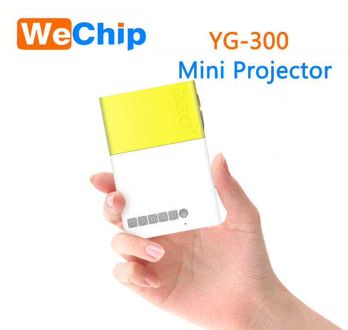 New brand 2017 1000 lumens mini led projector with CE&ISO