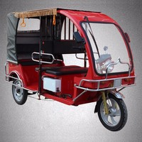 Battery electric auto cycle rickshaw for sale