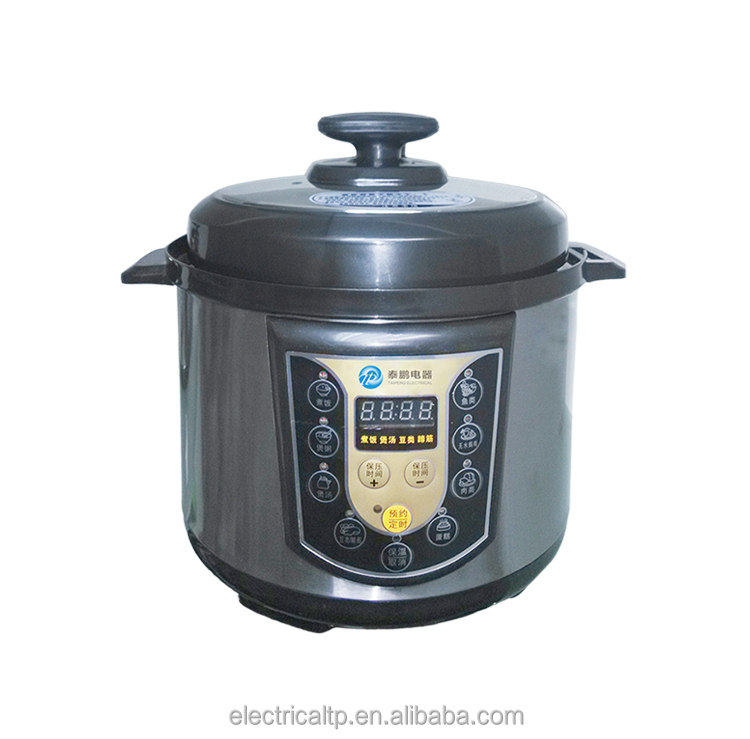 Good quality big capacity multifunction electric commercial pressure cooker