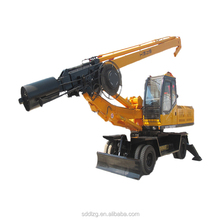 wheels type core drilling equipment best-selling 10-30m