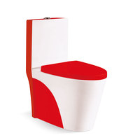 The lowest price luxury siphonic washdown one piece wc toilet bowl