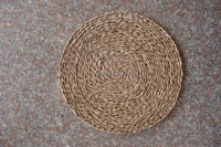cheap wholesale coffee table placemats decorative woven straw mat for tableware