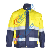 NFPA 2112 cotton us navy work jacket