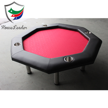Mini Poker Table with Red Felt Poker Table and Thick Foam Padding